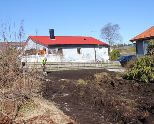 Hagearbeid og hagejord - T. Ullaland AS www.ullaland.no
